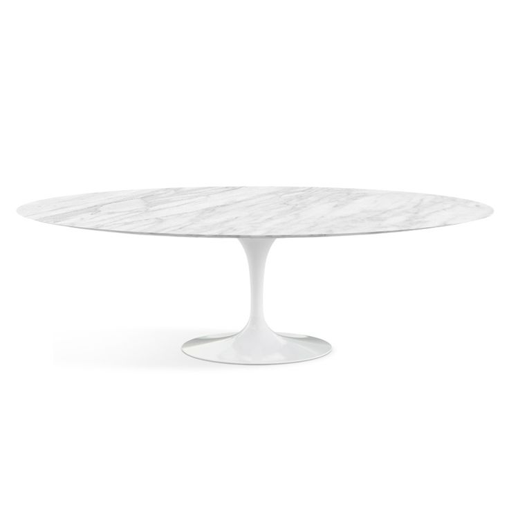 "Saarinen Dining Table - 96"" Oval 