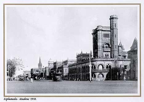 Esplanade, Chennai 1910