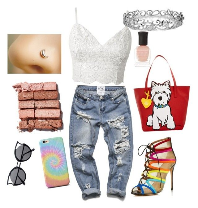 """#6"" by matilda-key on Polyvore featuring Salvatore Ferragamo, Marc Tetro, Deborah Lippmann, Bobbi Brown Cosmetics, Effy Jewelry, women's clothing, women, female, woman and misses"