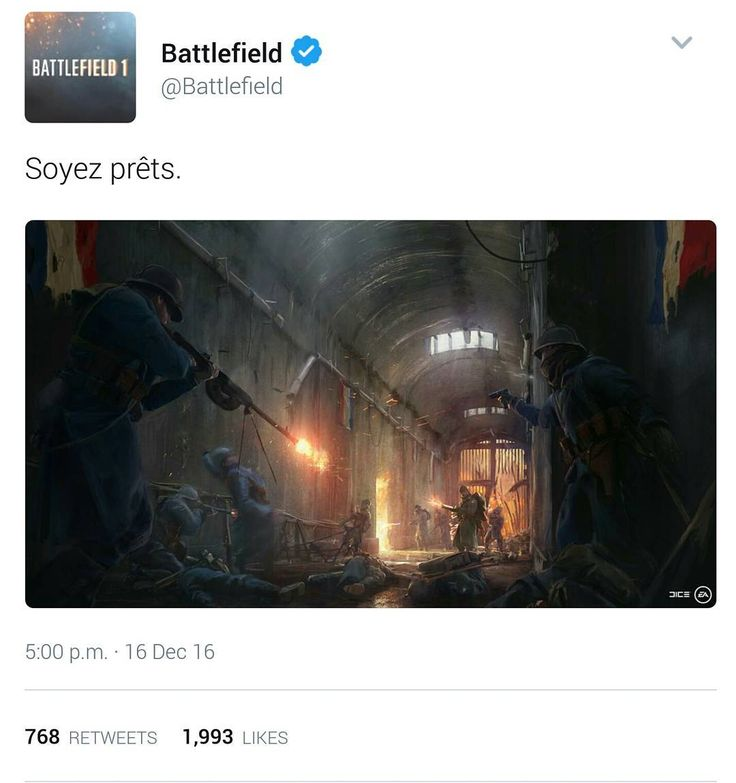 """I did say we'd get a """"locker"""" map in France!! Is right @battlefield cannot wait to play it!!! #battlefield #battlefield1 #bf1 #greenxboxboy #xbox #xboxone #xboxlive #ea #dice #ptfo #battlefieldbuddies #b1gamers #dlc #twitter #conceptart"""