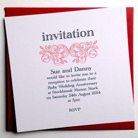 Best 25+ Wedding anniversary invitations ideas on Pinterest 50th - anniversary invitation template