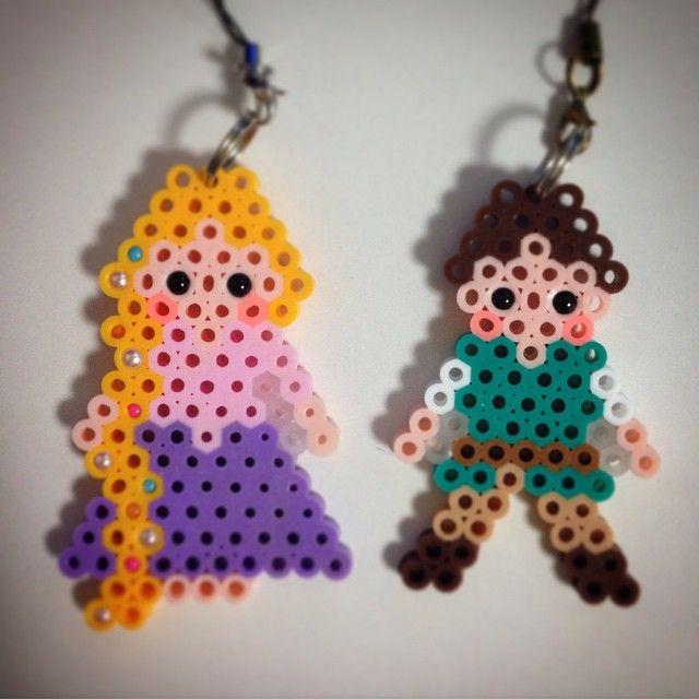 Tangled perler beads by ringo_0122