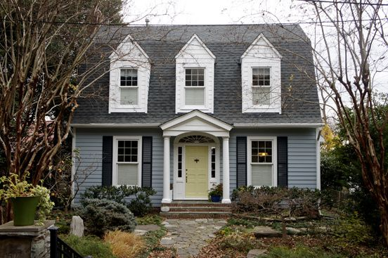 Ben moore silver gray castleton mist on the door - Benjamin moore gray mist exterior ...
