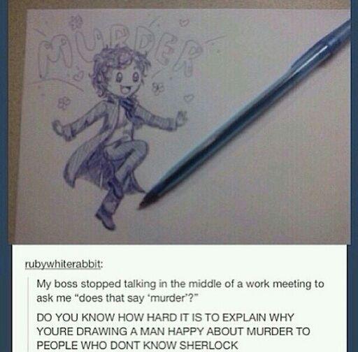 Explaining Sherlock xD
