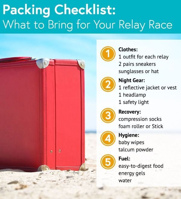 How to Pack (and Train!) For an Overnight Relay Race