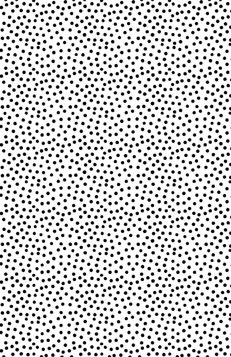 Black and white polka dot pattern design ideas and inspiration. Love this speckled monochrome print.