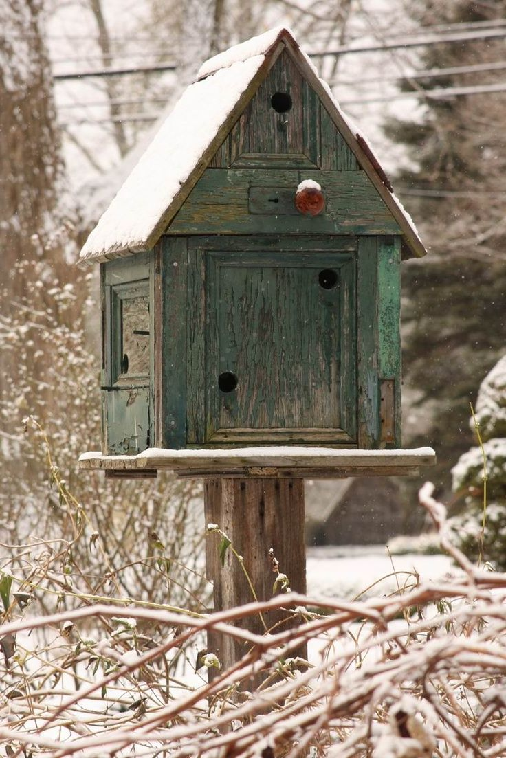 1005 best images about bird hotels on pinterest shabby - Old barn wood bird houses ...