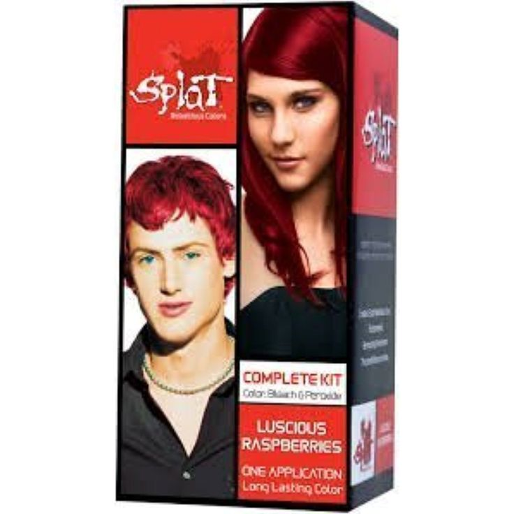 Splat Rebellious Colors Hair Coloring Kit - Luscious Raspberry (Set of 2) -- See this great product. (This is an affiliate link and I receive a commission for the sales)