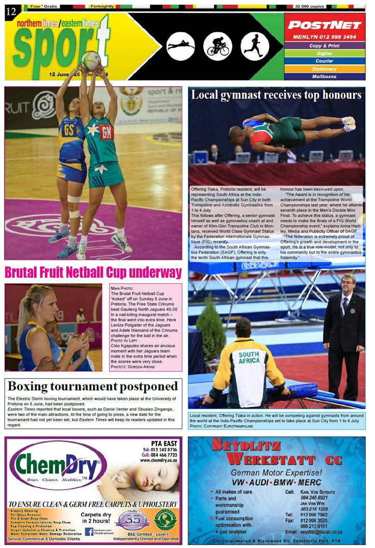 Sport page 13 - 26 June 2014