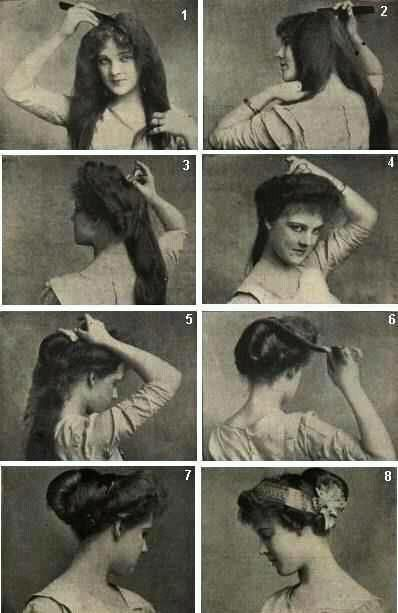 Obligeme How To Fashion Your Hair Like A Gibson Girl I Recommend