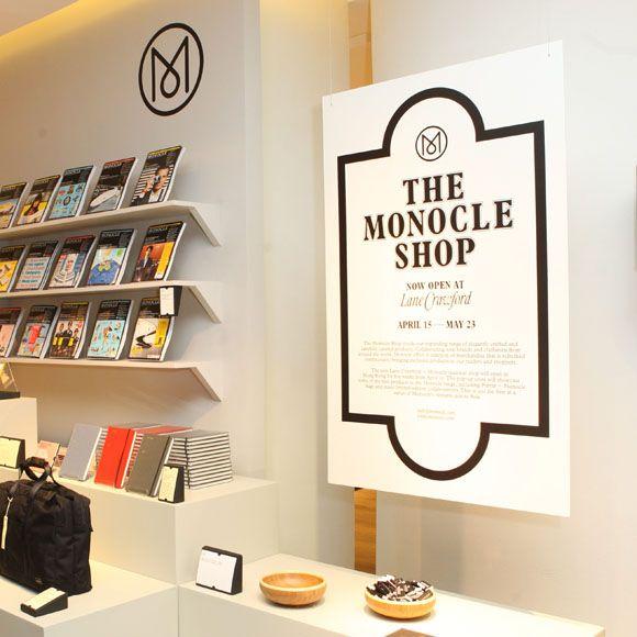 hong kong: monocle pop-up store