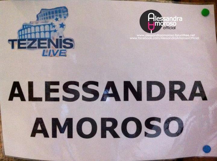 Brividi solo sentendo 'ALESSANDRA AMOROSO' ♥