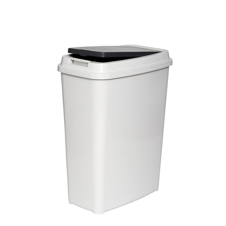 White Kitchen Bin Part - 16: Find Willow Touch Top Rubbish Bin At Bunnings Warehouse. Visit Your Local  Store For The Widest Range Of Storage U0026 Cleaning Products.