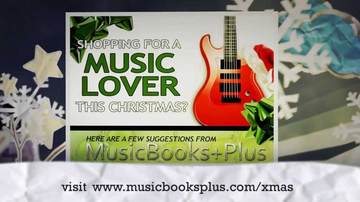 Shopping for a Music Lover...Don't forget to stop by Music Books Plus for some suggestions that are sure to please!  visit:www.musicbooksplus.com/xmas