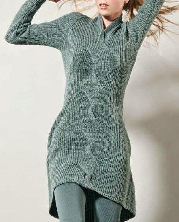 Dziana Moda: Sukienka na drutach w morskiej zieleni