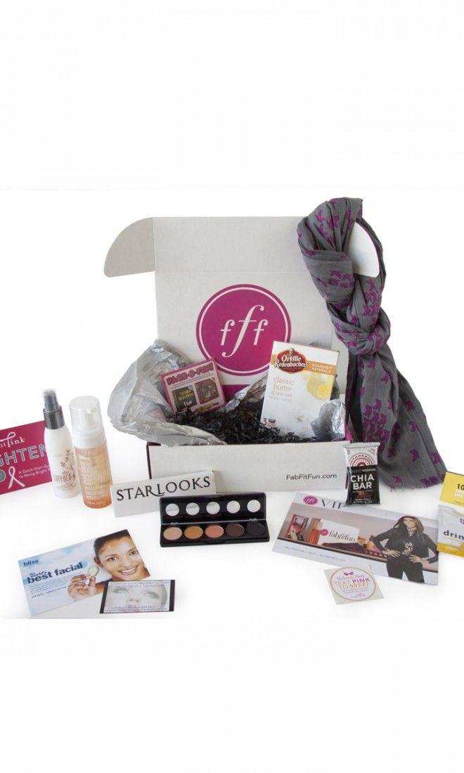 Wedding Gift Ideas USD200 : FabFitFuns Fall 2013 Box: over USD200+ in beauty, fashion and fitness ...