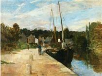 Rosbras, Brittany - Berthe Morisot