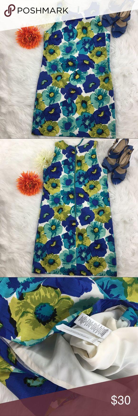 Loft Floral Dress Beautiful floral dress from Loft. It is a petite size; however, it can easily fit normal sizes. LOFT Dresses
