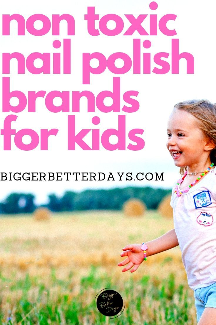 5 KidFriendly Non Toxic Nail Polish Brands Safe nail