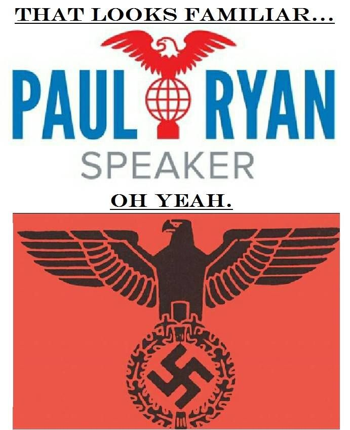 — truth-has-a-liberal-bias: More Nazi symbolism from...