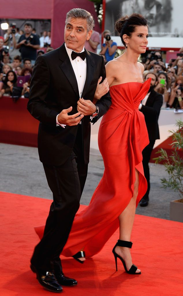 George Clooney & Sandra Bullock from The Big Picture: My two FAVE stars.  <3