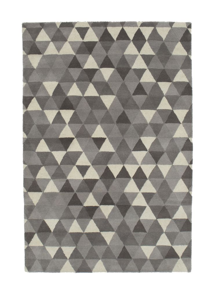 Modern - calaidescope -  grey #1773 3.00 x 2.50m Himalaya Collection ~ New Zealand Wool Hand-Tussock Was R 28500 -50 % Now R14 250
