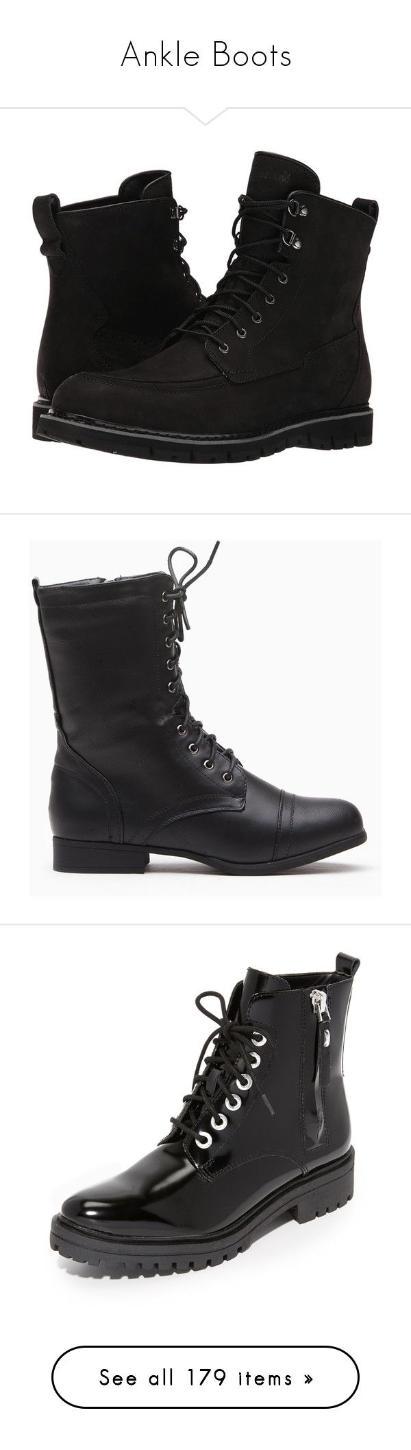 """""""Ankle Boots"""" by faithanddreams ❤ liked on Polyvore featuring men's fashion, men's shoes, men's boots, men's work boots, shoes, men, boots, men items, timberland mens boots and mens black tie"""