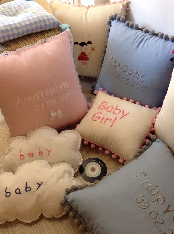 personalised cushions by cotton prince
