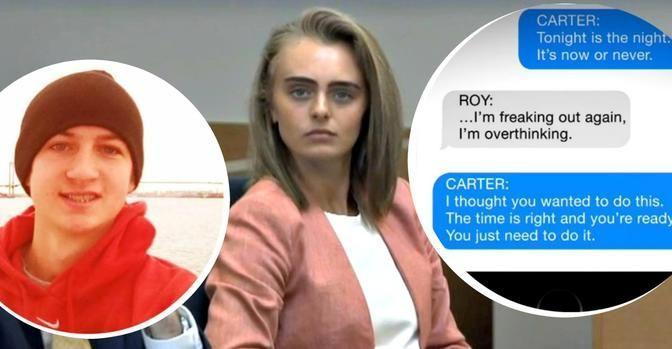Para un caso que había jugado en miles de mensajes de texto, lo que hizo que el comportamiento de Michelle Carter fuera un crimen, según un juez, llegó en una sola llamada telefónica. Justo cuando su amigo Conrad Roy III salió del camión que había llenado de humos letales, Carter le dijo por teléfono para …