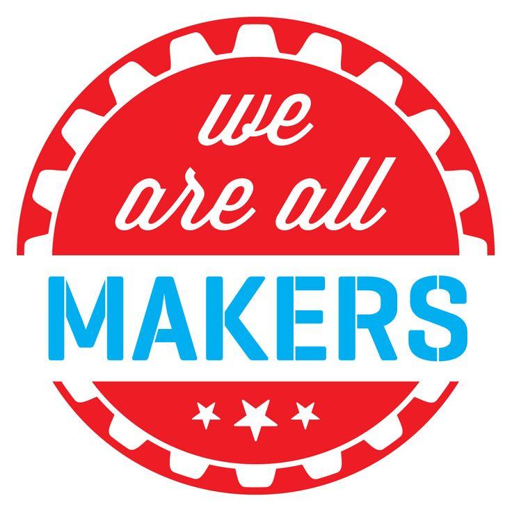 mfweareallmakersjpg (1125×1125) 3304 Project 2 Pinterest - free ticket maker