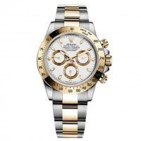 Rolex Daytona Index cadran blanc bracelet Oyster 116523WSO