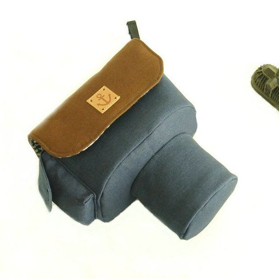 Canvas DSLR Camera Case
