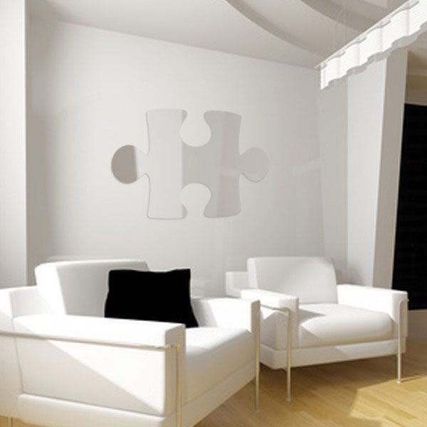 29 best puzzle decor images on pinterest puzzle pieces for Architectural decoration crossword clue