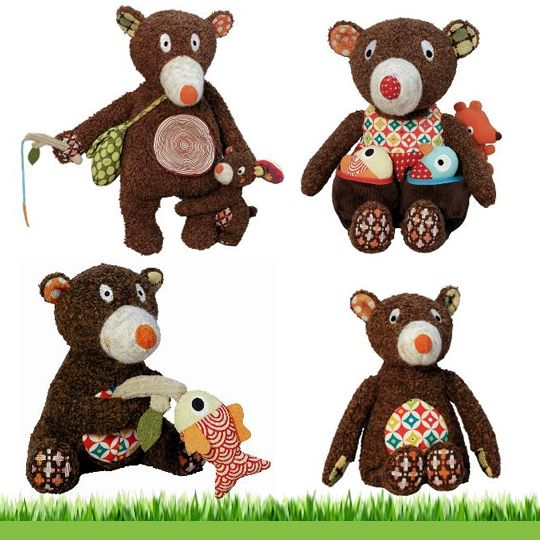 More Woodours Bears...Anderson has the one on the top right