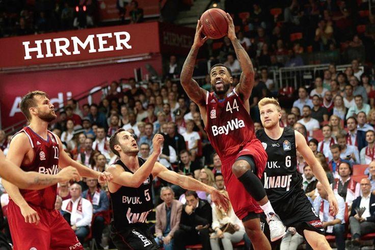 #HIRMER ist neuer Premiumpartner des #FC #Bayern #Basketball #München
