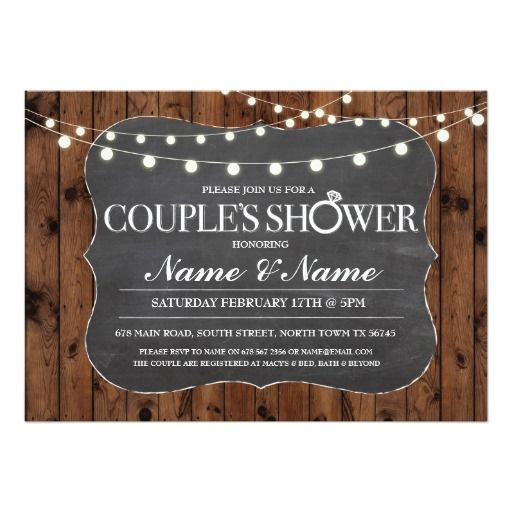 best 25+ couples shower invitations ideas on pinterest, Wedding invitations