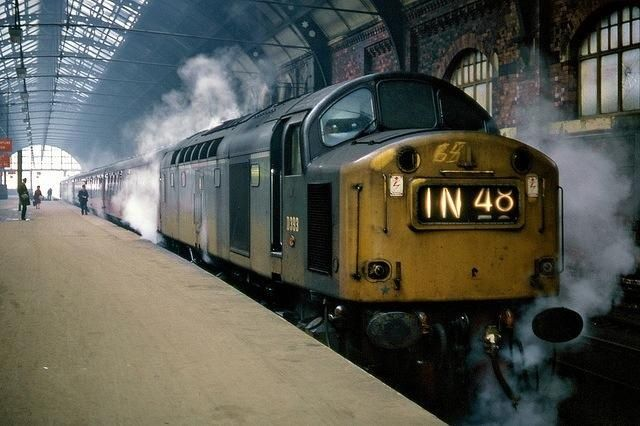 Class 40 in Darlington