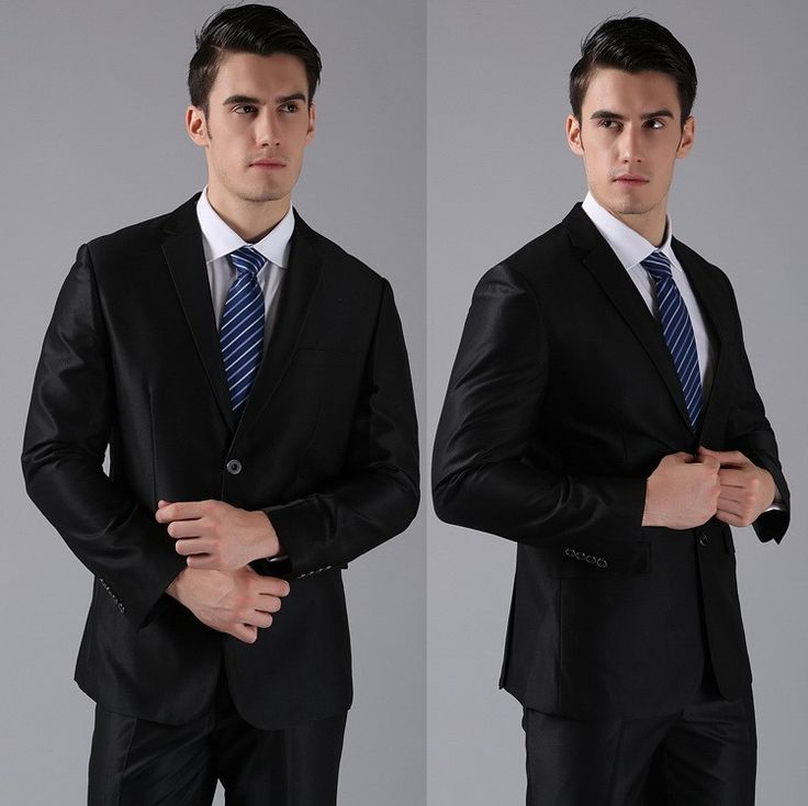 setelan jas pengantin pria ini memiliki warna hitam mengkilat cocok untuk acara pernikahan yang casual dan elegan harganya murah kualitas jelas terjamin