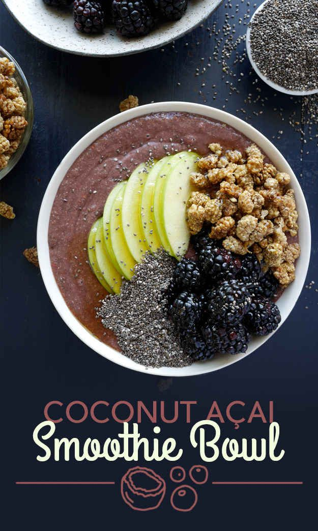 Coconut Açai Smoothie Bowl