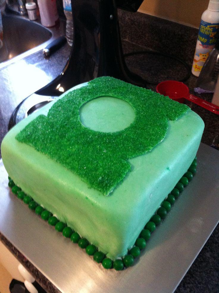 Green Lantern CakeBday