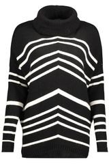 Object - gebreide trui met strepen
