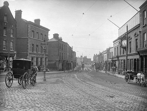 Dublin 1900   ... coastal village of Blackrock in south Dublin c.1900 (NLI, LROY 8994
