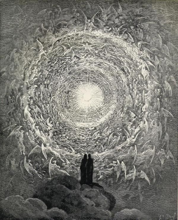 /// White Rose by Gustave Dore (Illustration for Dante's Paradiso) #dante #divinecomedy #dore