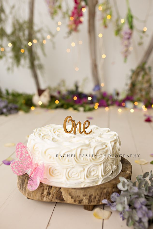 Enchanted Woodland Spring Garden Cake Smash Brisbane Photographer