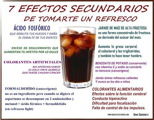 7 efectos secundarios de tomarte un refresco