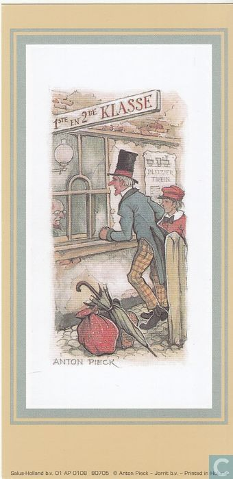 Stationsloket Anton Pieck
