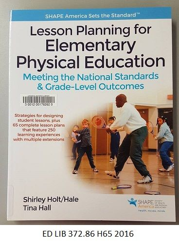 71 best new books images on pinterest new books book cover art lesson planning for elementary physical education meeting the national standards and grade level outcomes fandeluxe Image collections