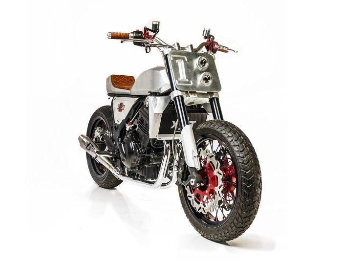 """Kawasaki Ninja 250 """"Street Urban Tracker"""" by White Collar Bike"""