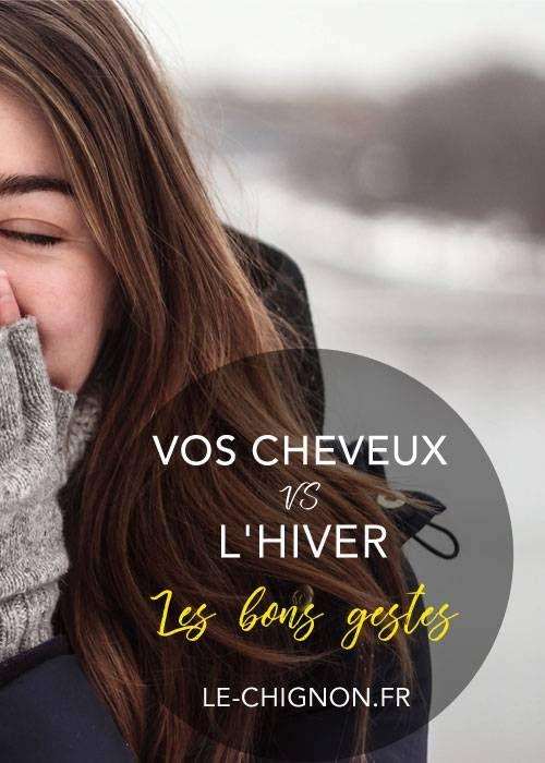 Vos cheveux en hiver peuvent souffrir de la rudesse de la saison. Je vous explique pourquoi et comment venir en aide à votre précieuse crinière. #cheveux #hiver  #soin #diy #froid