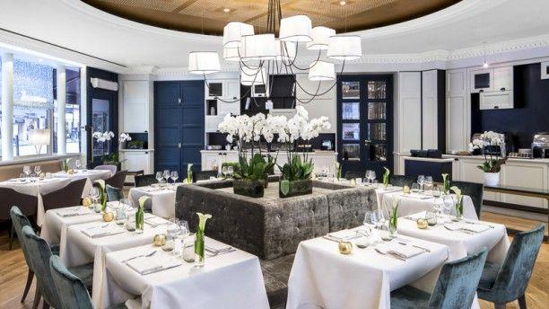 Cuisine l'E7 - Hôtel Edouard 7 La salle de restaurant